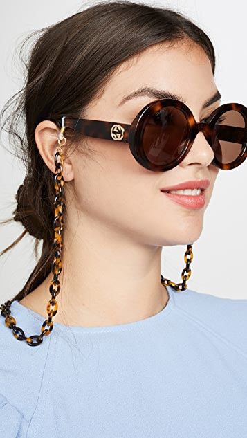 Lele Sadoughi Cable Length Eyeglass Chain