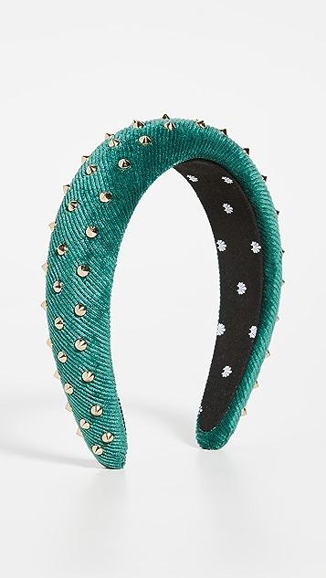 Lele Sadoughi Studded Padded Headband
