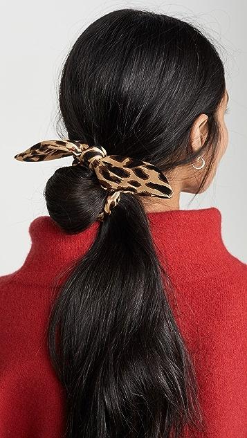 Lele Sadoughi Rabbit Ear Scrunchie Set