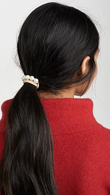 Lele Sadoughi Elastic Tie Set