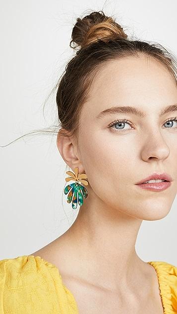 Lele Sadoughi Vine Drop Earrings
