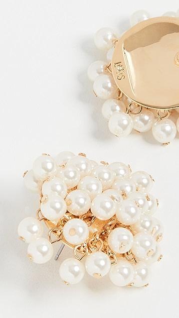 Lele Sadoughi Petite Cluster Earrings