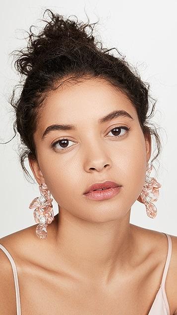 Lele Sadoughi Trillium Bouquet Earrings