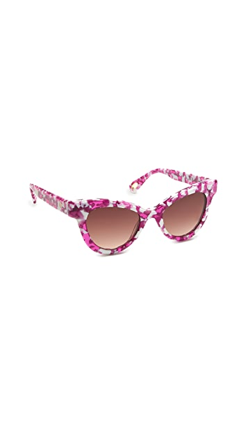 Lele Sadoughi Uptown Cat Eye Sunglasses