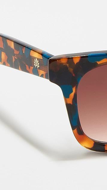 Lele Sadoughi Broadway Sunglasses