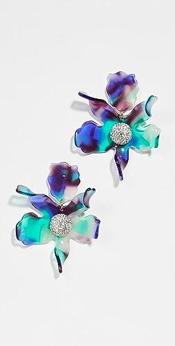 Lele Sadoughi - Crystal Lily Earrings