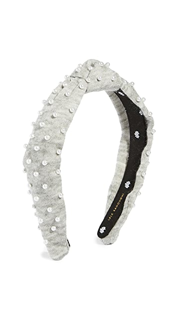 Lele Sadoughi Petite Jeweled Knit Headband