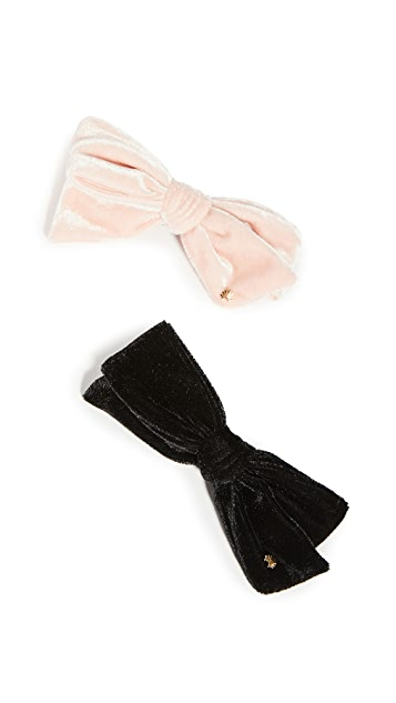 Lele Sadoughi Set of Two Tied Bows