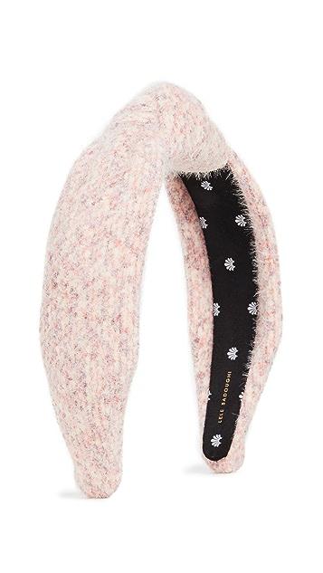 Lele Sadoughi Mixed Yarn Knotted Headband