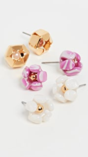 Lele Sadoughi Buttercup Stud Earrings Gift Set