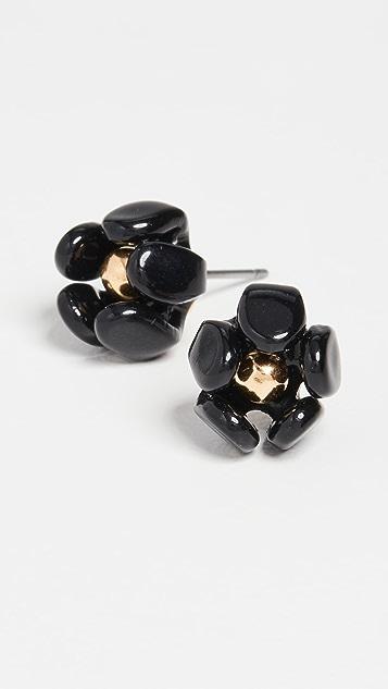 Lele Sadoughi Buttercup Stud Earrings