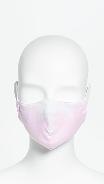 Lele Sadoughi Face Covering and Headband Set