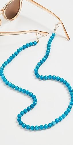 Lele Sadoughi - Beaded Cable Link Eyeglass Chain