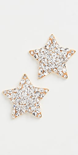 Lele Sadoughi - Jeweled Star Button Earrings