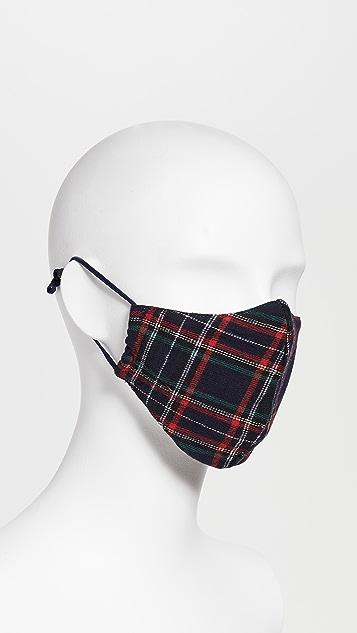 Lele Sadoughi Set of 3 Face Coverings