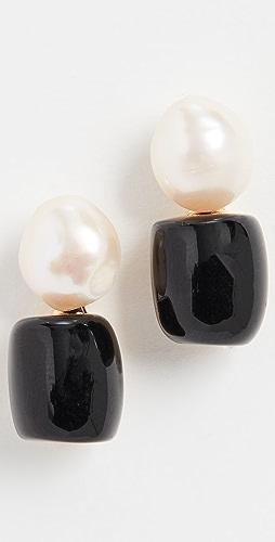 Lele Sadoughi - Monaco Double Drop Stud Earrings