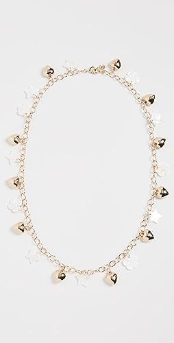 Lele Sadoughi - Mixed Charm Sunglass Chain
