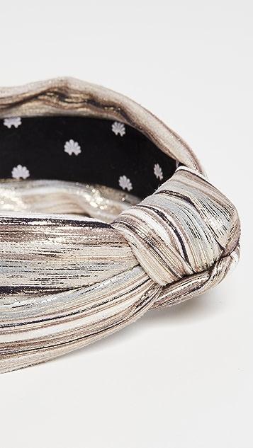 Lele Sadoughi 混合金属色结饰发带