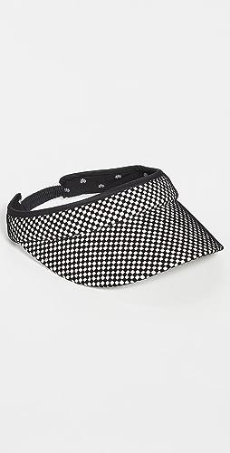 Lele Sadoughi - Checkered Visor
