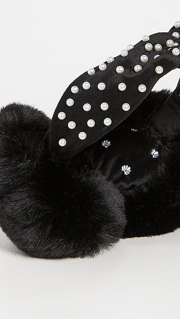 Lele Sadoughi Earmuff Headband