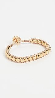Lele Sadoughi Beaded Cord Bracelet