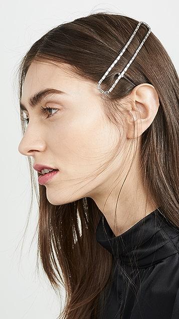 LELET NY Прямоугольная заколка для волос Void
