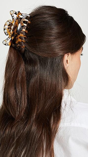LELET NY Jumbo Claw Pearl Hair Clip