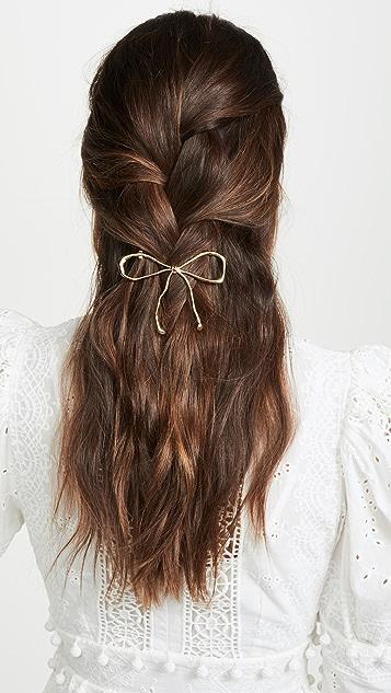 LELET NY Металлическая заколка для волос с бантом