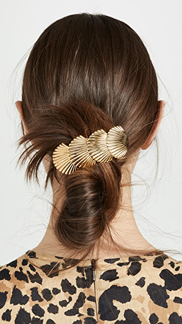 Shell Barrette by Lelet Ny