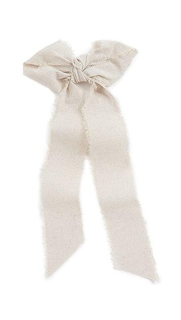 LELET NY Linen Bow