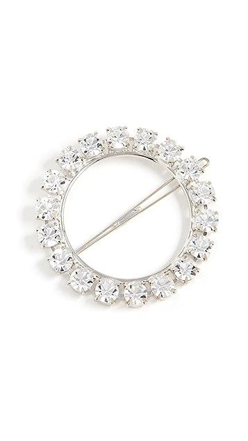 LELET NY Olivia Crystal Ring Barrette