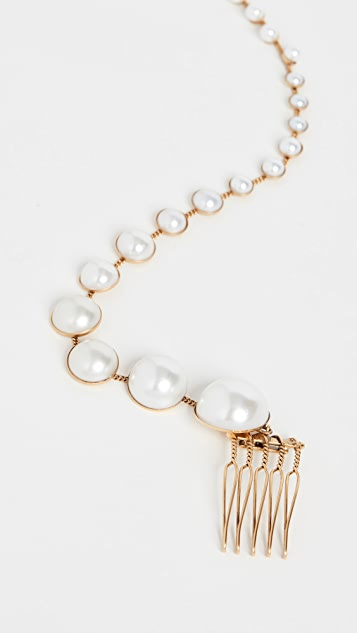 LELET NY Pearl Spine Comb