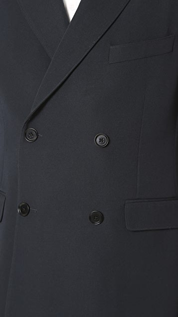 Lemaire Double Breasted Jacket