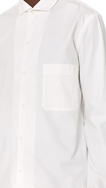 Lemaire Spread Collar Shirt