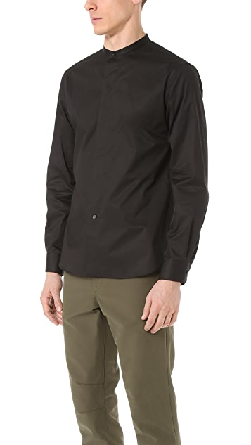Lemaire Officer Collar Shirt
