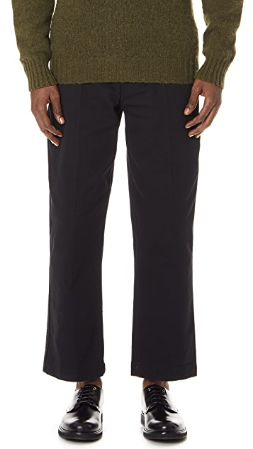 Lemaire Heavy Cotton Labour Chinos