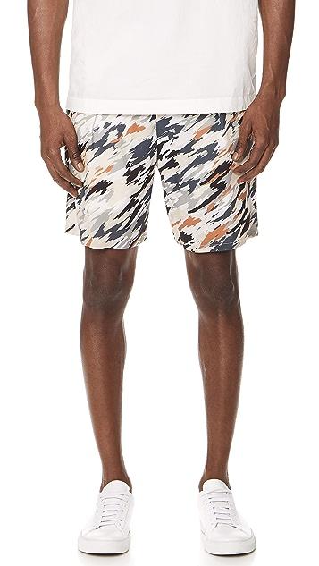 Lemaire Elastic Waist Shorts