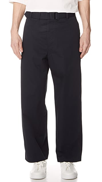 Lemaire Belted Pants