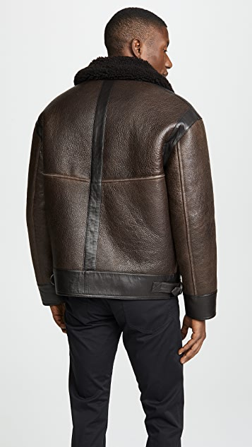 Lemaire Sheepskin Flight Jacket