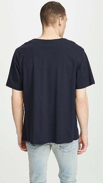 Lemaire Short Sleeve T-Shirt