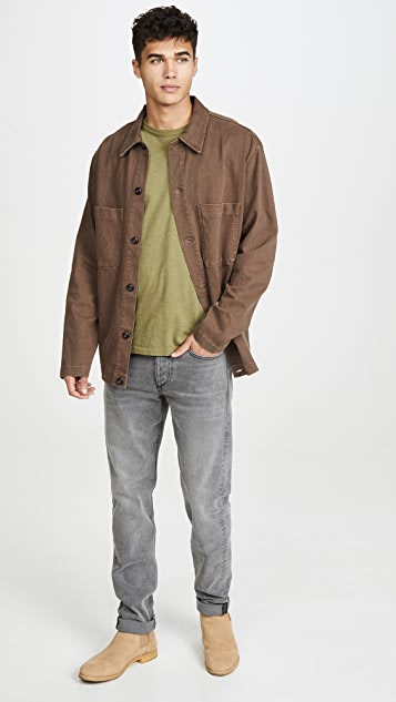 Lemaire Heavy Jersey Overshirt