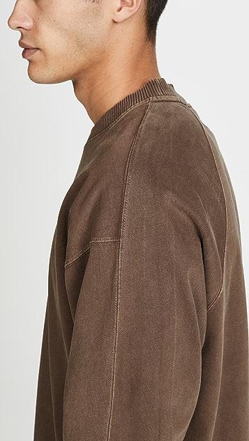 Lemaire Heavy Jersey Raglan Sweatshirt