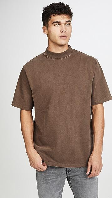 Lemaire Mock Neck T-Shirt