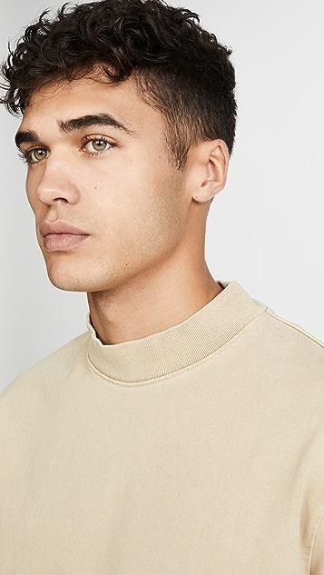 Lemaire Mock Neck Tee Shirt