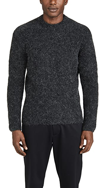 Lemaire Hairy Brushed Alpaca Sweater