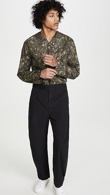 Lemaire Lemaire X Sunspel V Neck Shirt