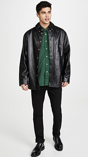 Lemaire Large Collar Shirt