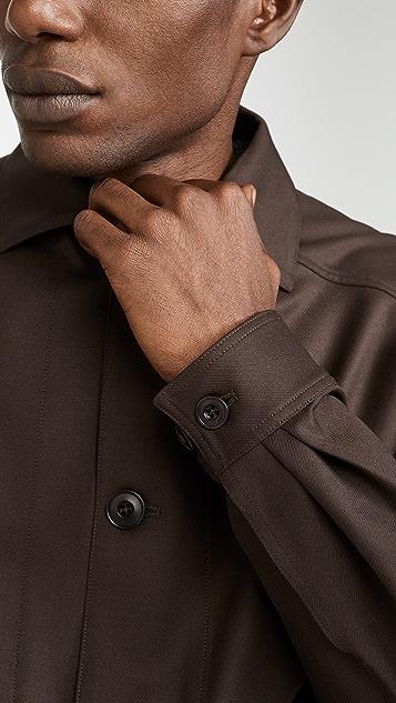 Lemaire Oversized Wool Jacket