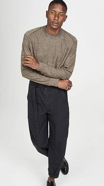 Lemaire Merino Crew Neck Sweater