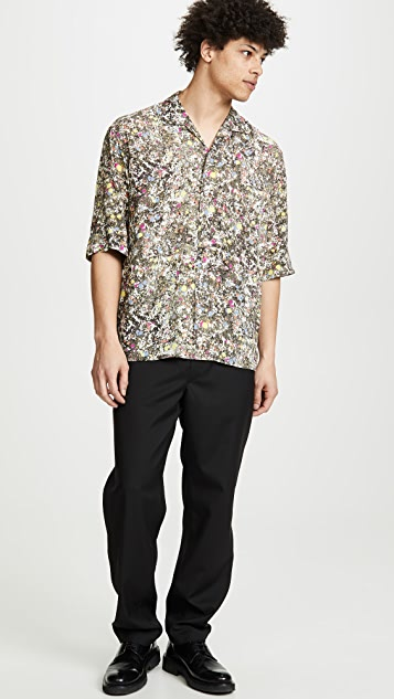 Lemaire Convertible Collar Shirt